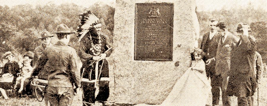 Plaque Ceremony